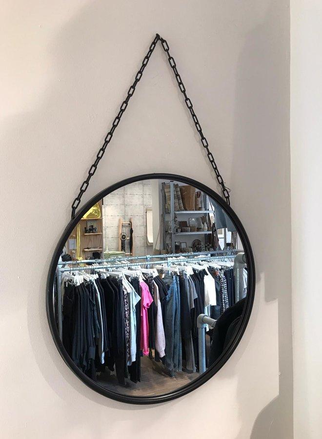Spiegel Nordal rond black, dia 55 cm