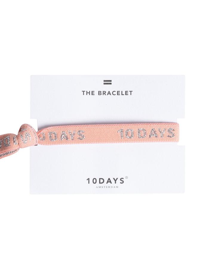 10days bracelet salmon pink