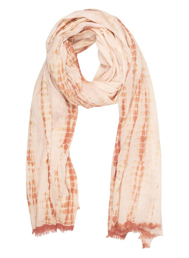 10days scarf tie dye ecru