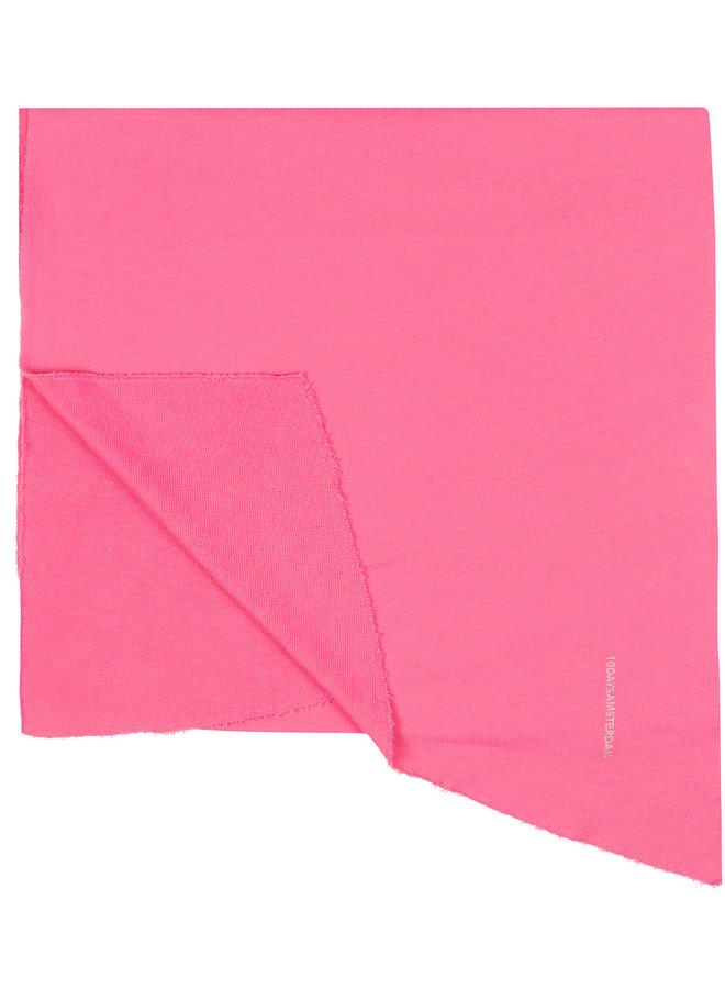 10days scarf fleece pink