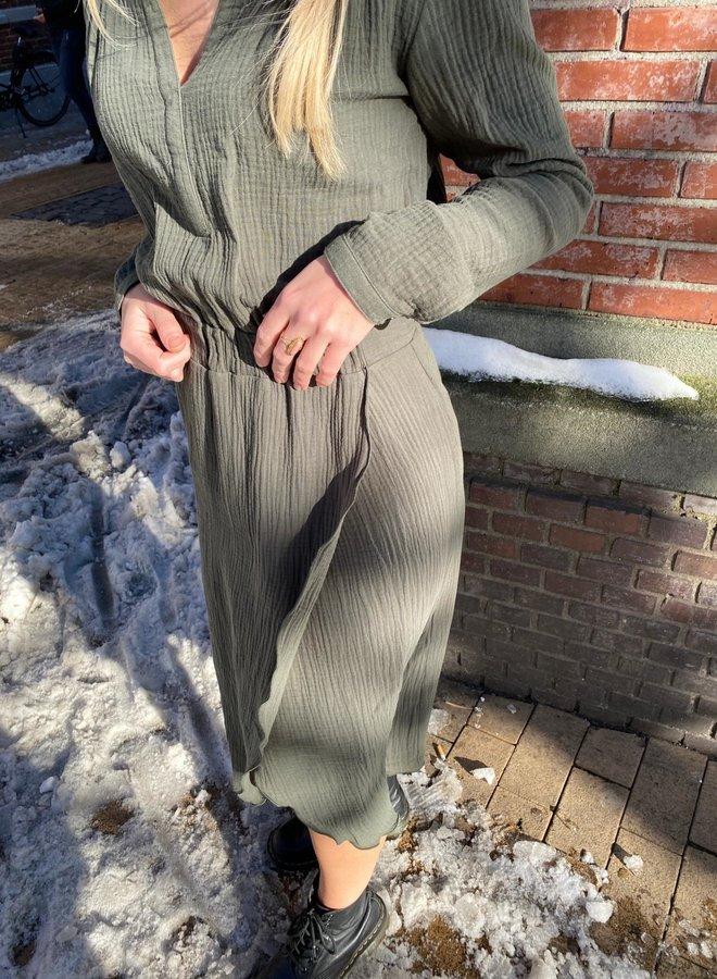 Les Favorites jill army dress