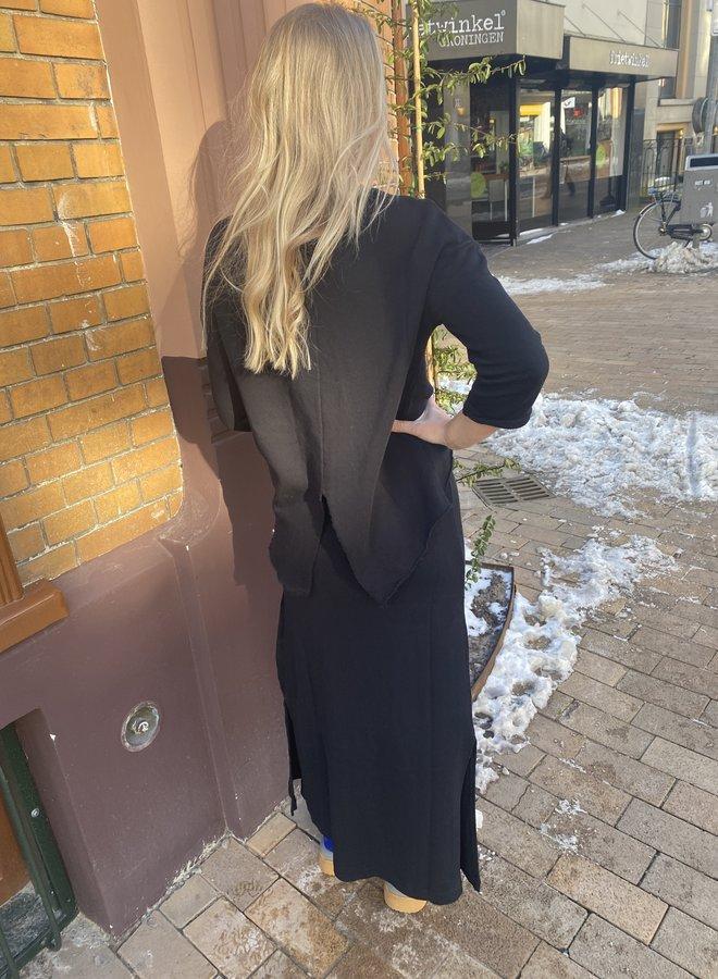 10days sweater split black