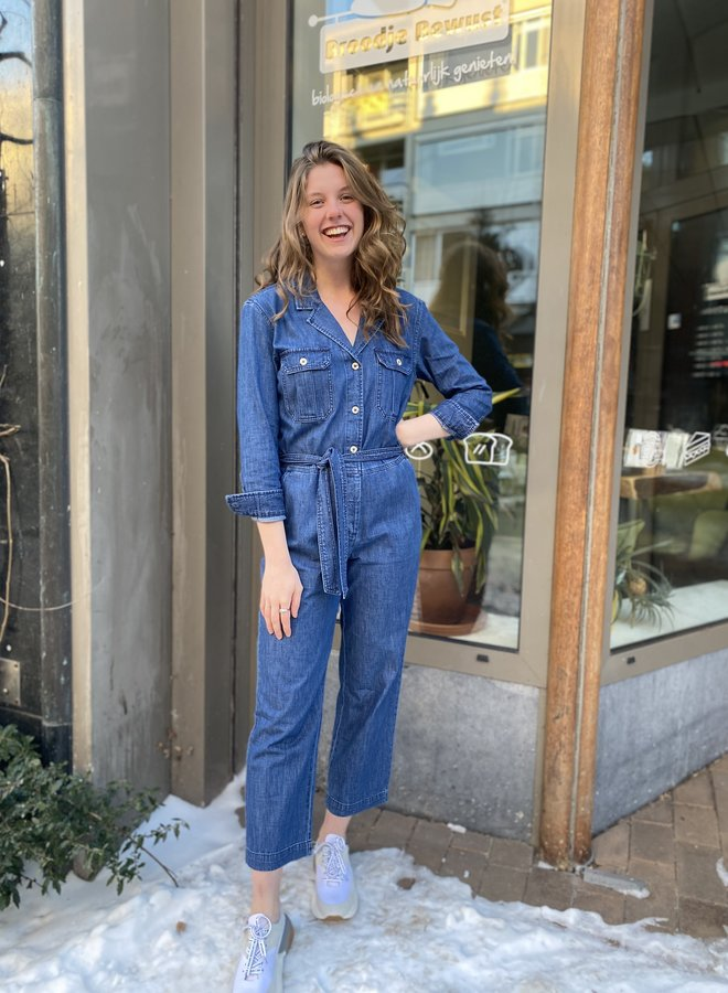 Denham S21 galloway suit blue