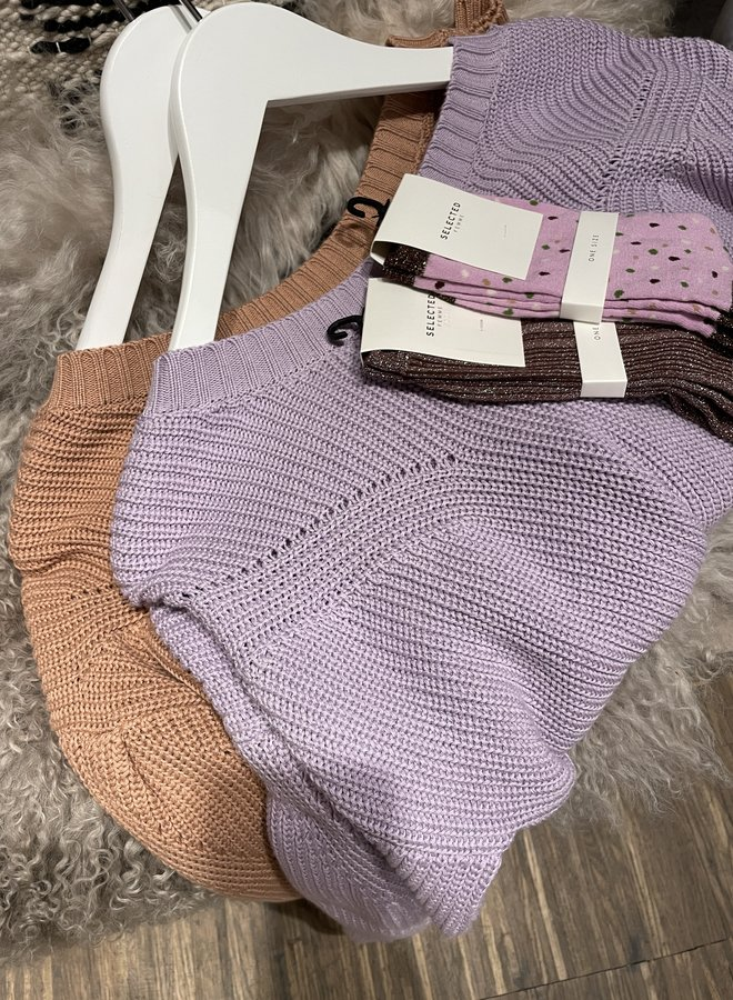 Maison Anje leceres knit muscade
