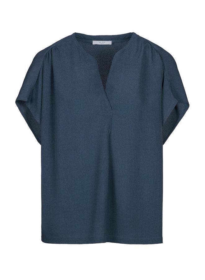 By Bar moon blouse oil blue