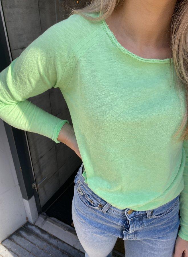 American V. son31 sweater chrysalide