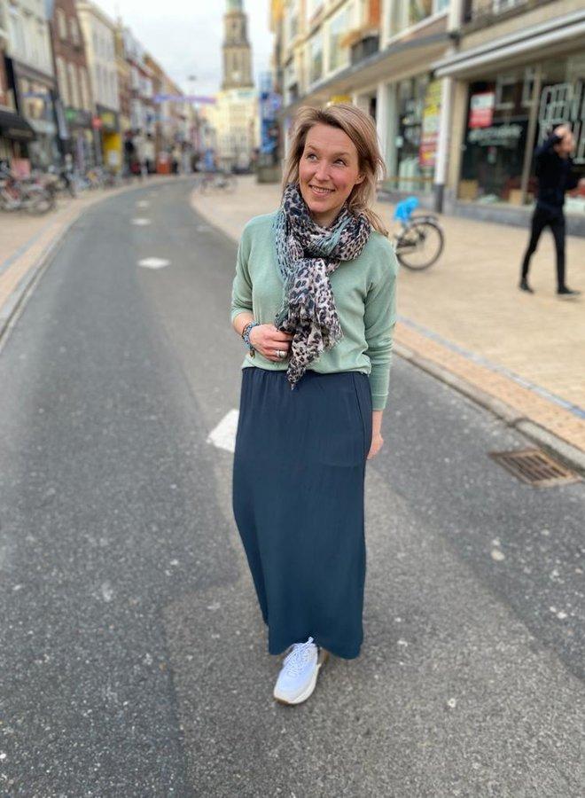 By Bar emelie skirt oil blue