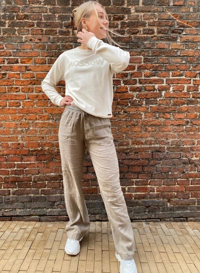 Moscow S21.90.02 trousers taupe