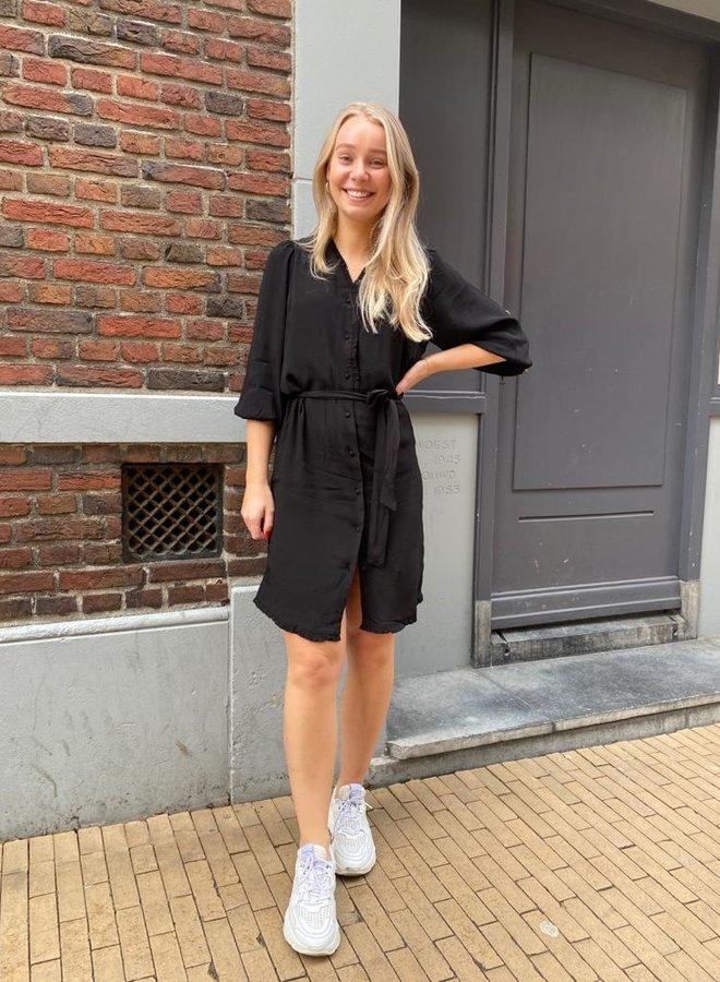 SF emira short dress black