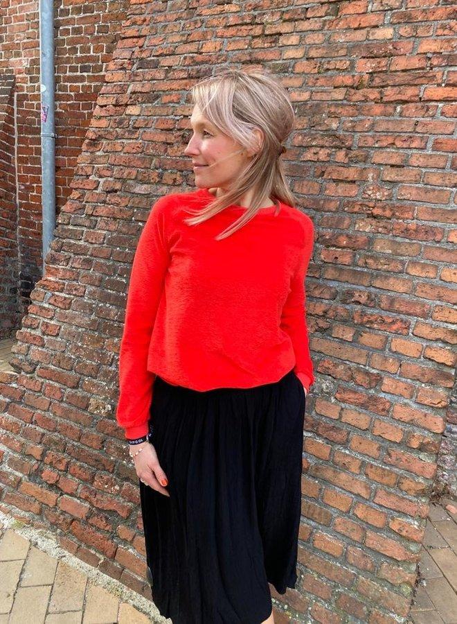 By Bar lola midi skirt black