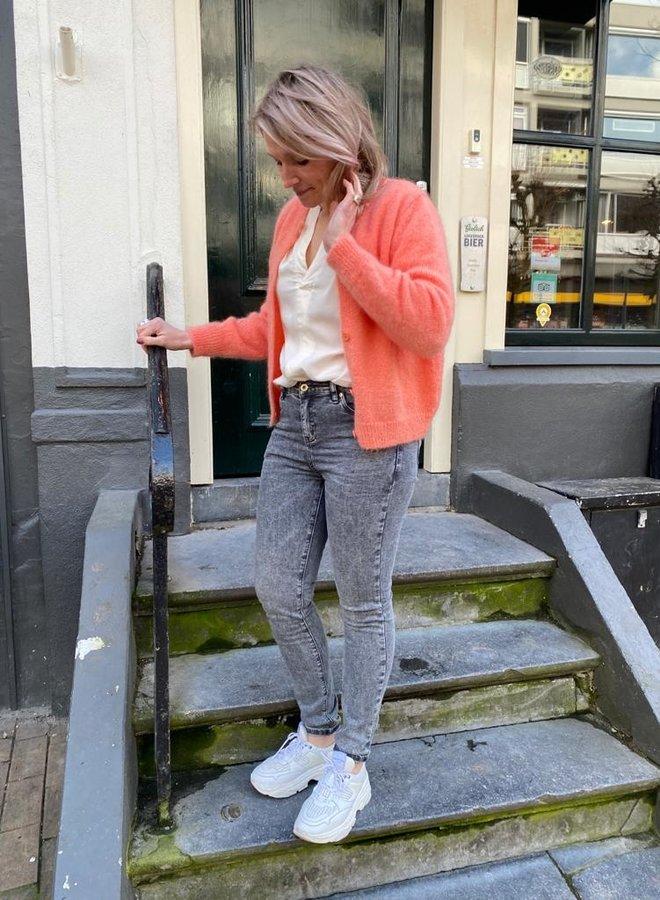 Circle pippa jeans grey