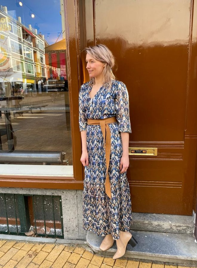 Dante6 bardon long dress multi