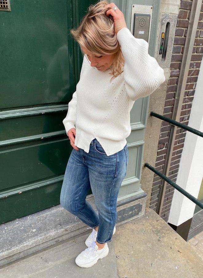 10days sweater cotton white