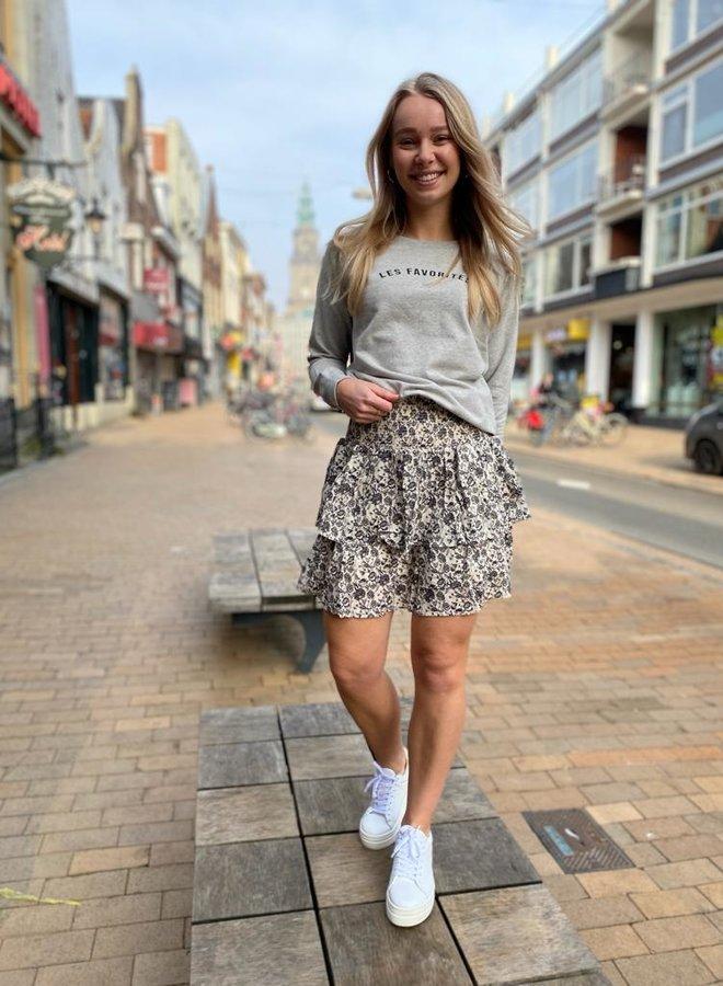 Les Favorites isabel skirt white