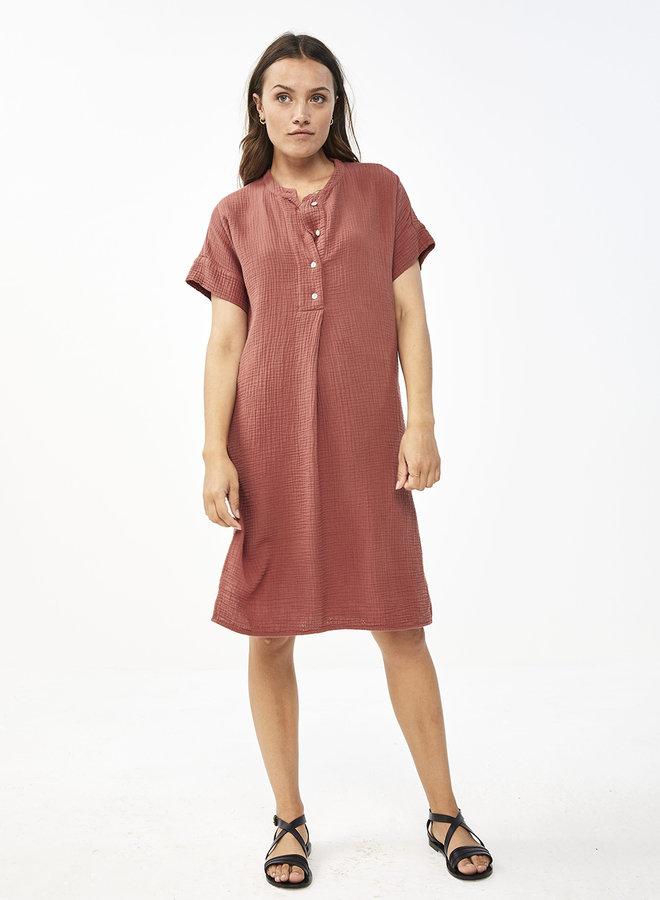 By Bar otty dress bright plum