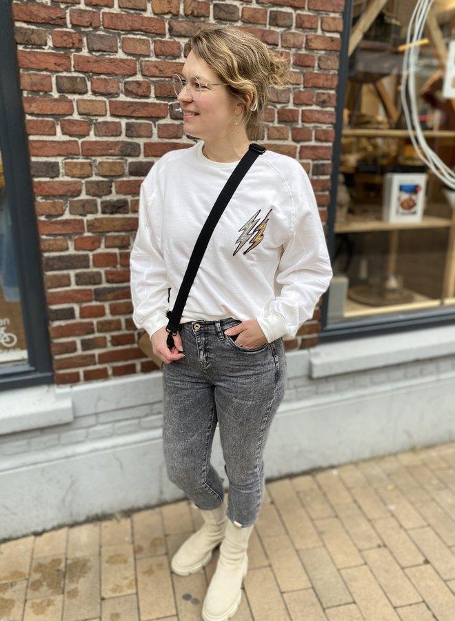 MKT samil sweater white