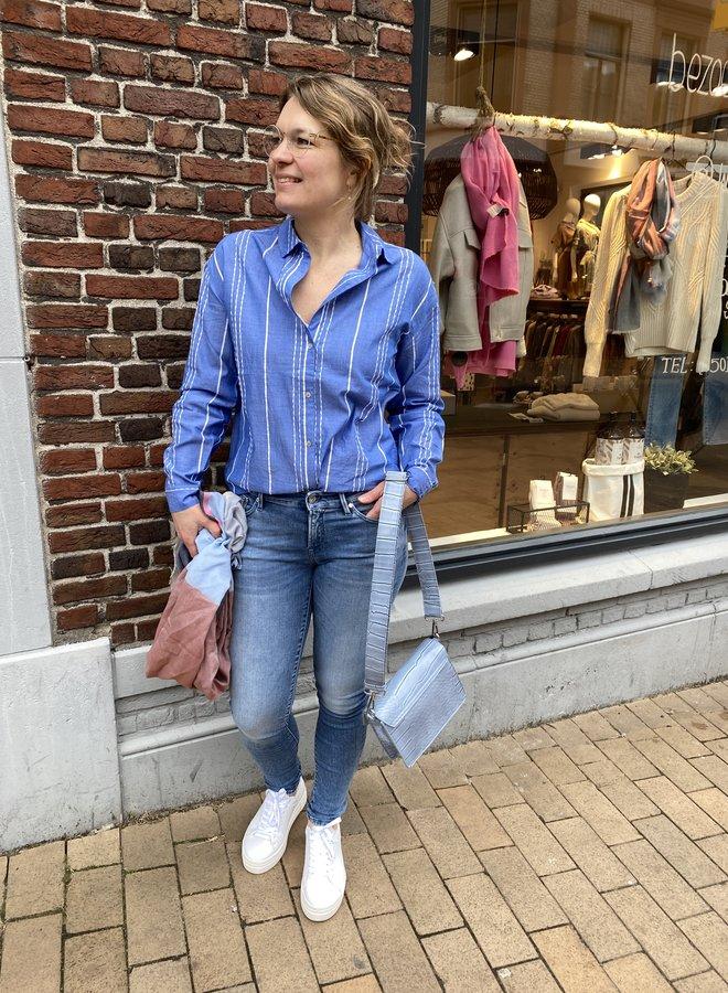 MKT camille blouse blue