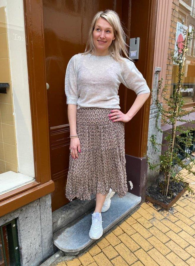 Second Female frank midi skirt