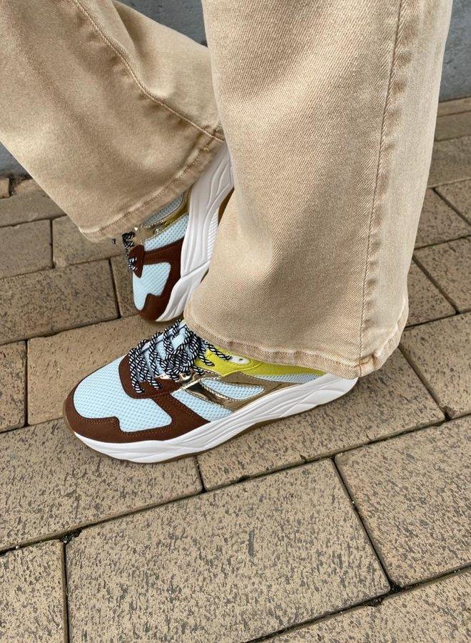 Scotch & Soda sneakers brown multi