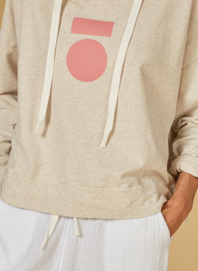 10days hoodie soft white