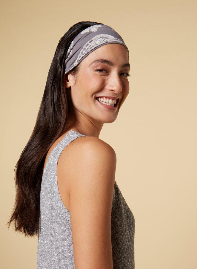 10days headband ethnic grey