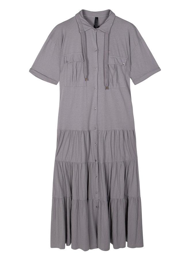 10DAYS maxi dress grey