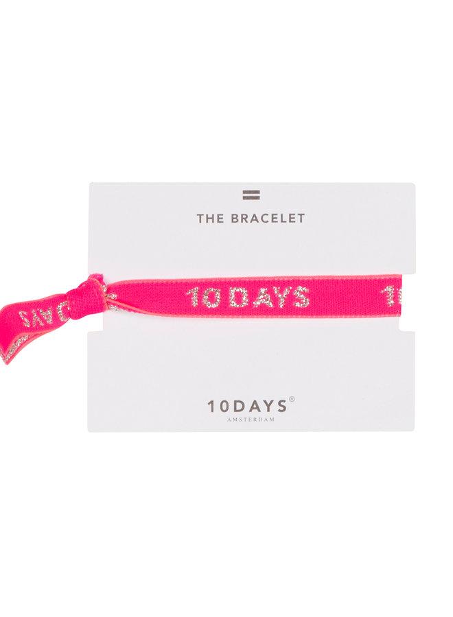 10days bracelet candy pink