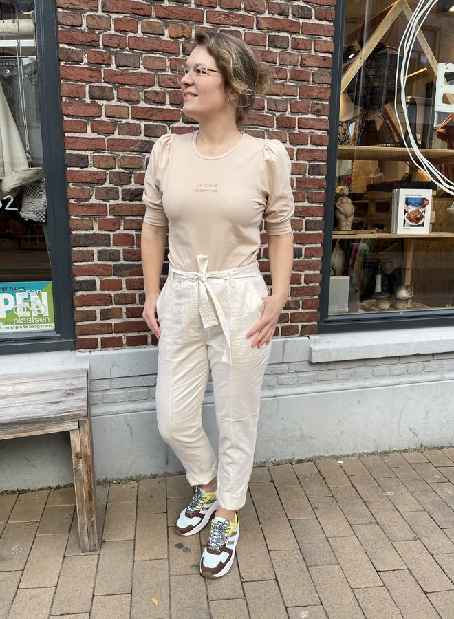Second selene trousers off white