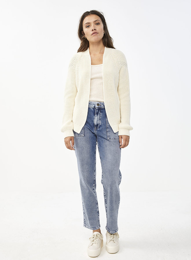 By Bar berry cardigan off white