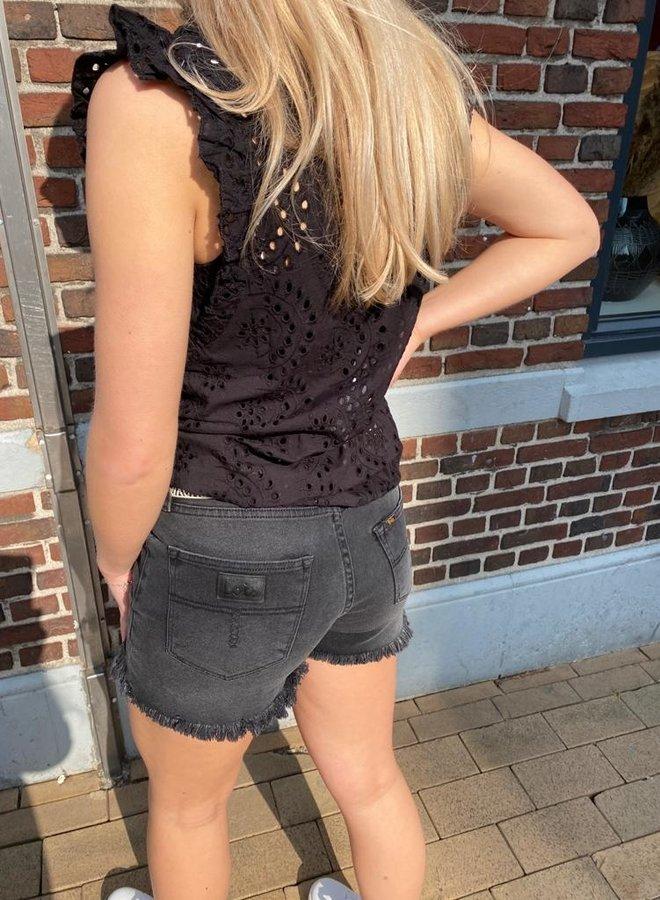 Circle katie blouse black