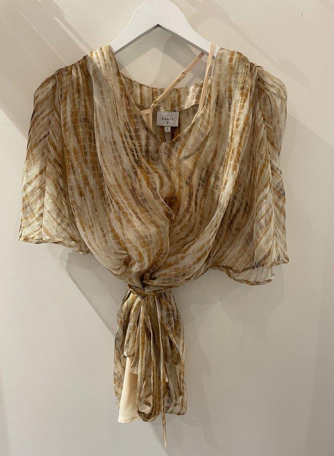 Dante6 mia silk top multicolour