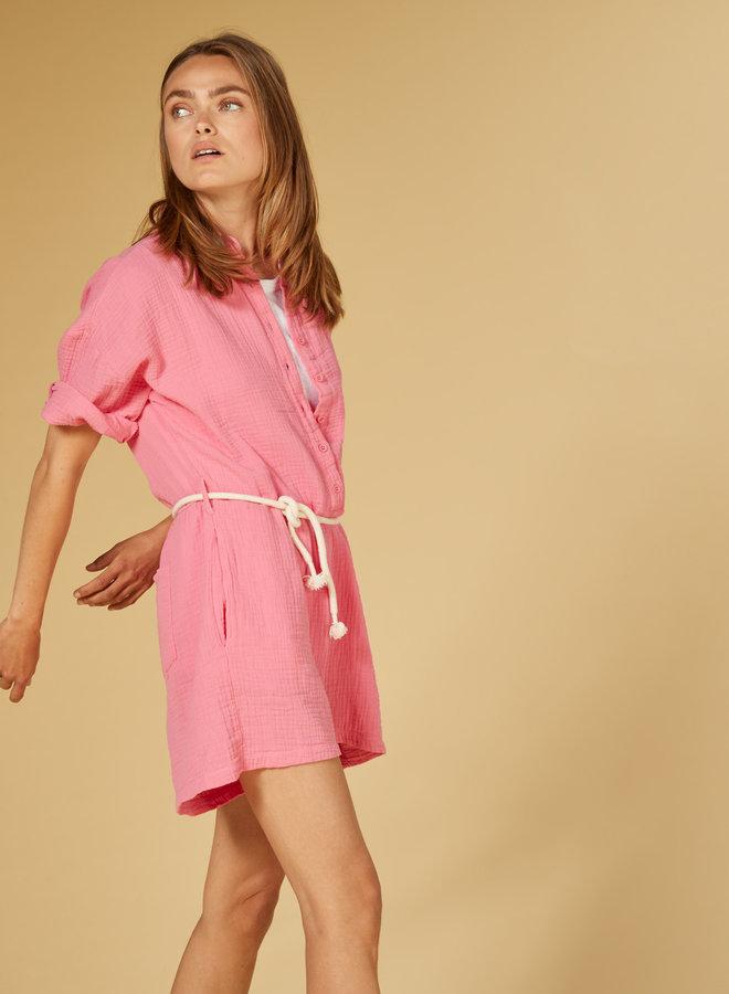10DAYS short jumpsuit pink