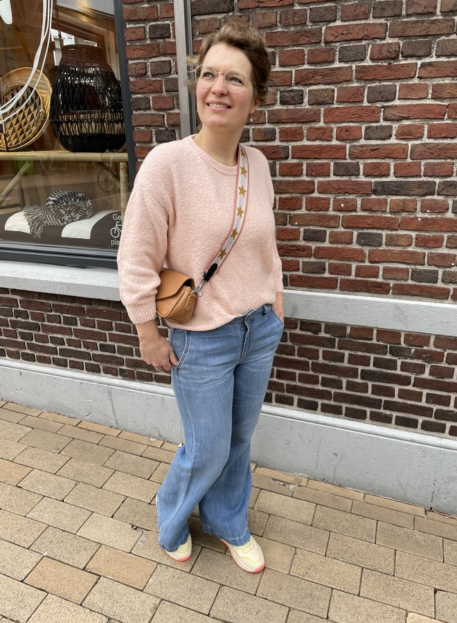 Lois new sia wide jeans stone