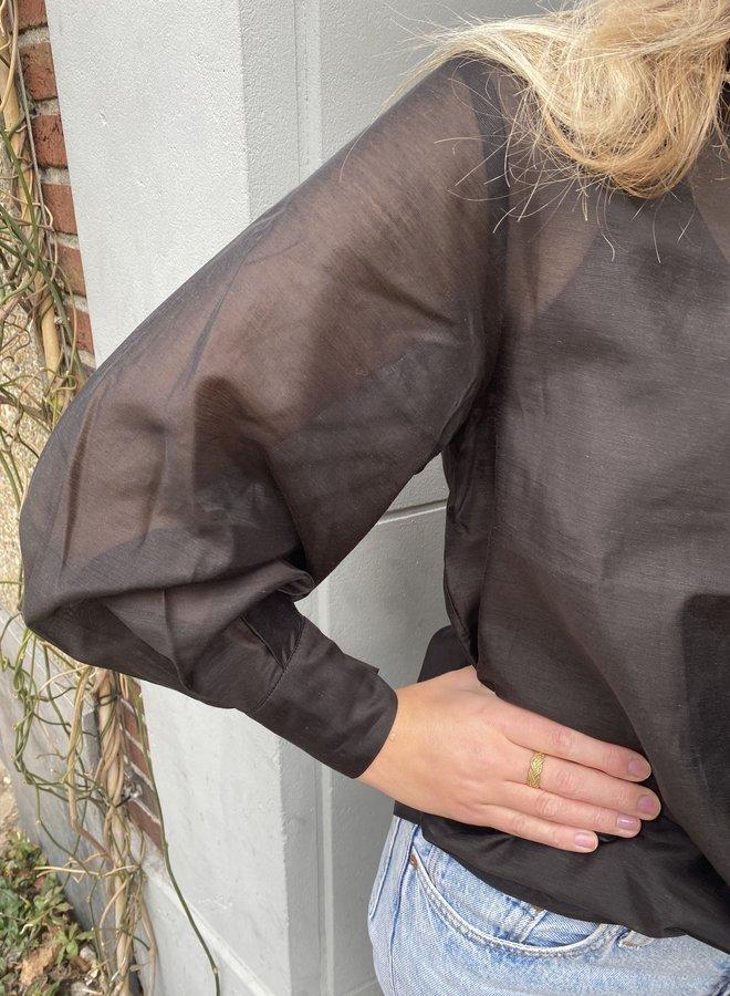 Second Female tinley blouse black