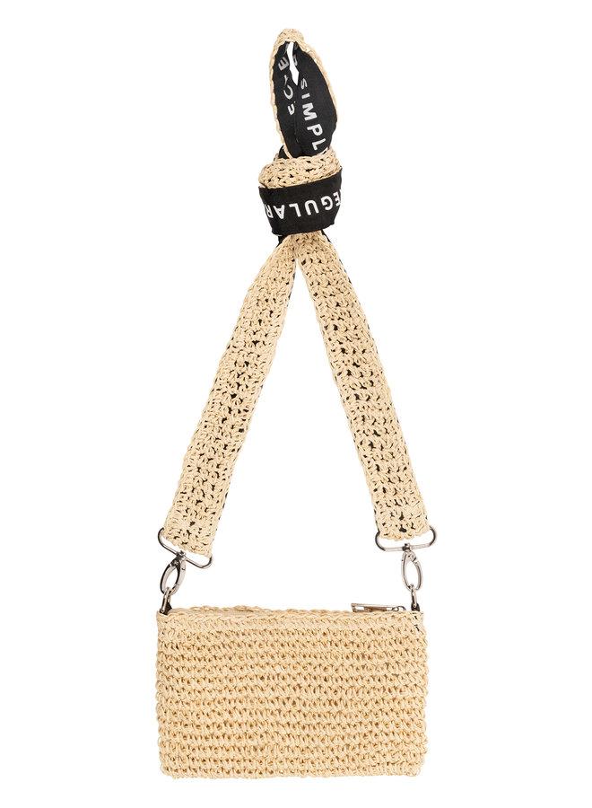 10days mini pouch straw beige