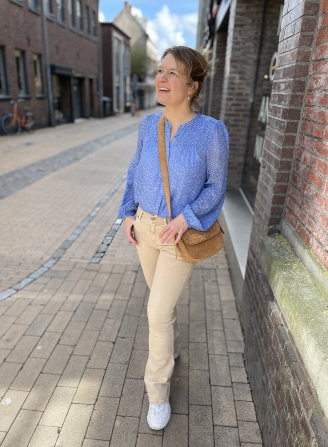 Second Female mano blouse blue