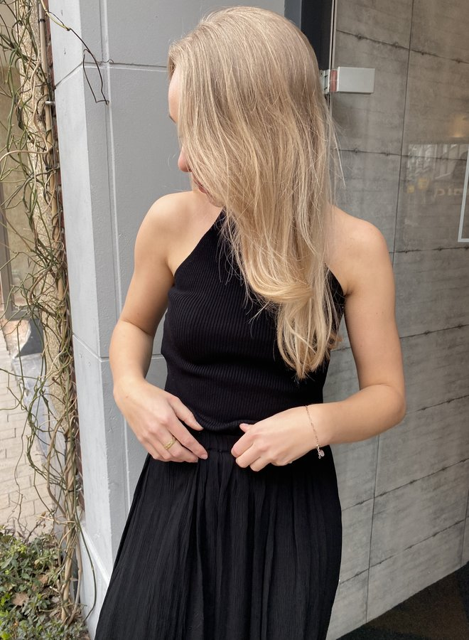 SF solita knit top black