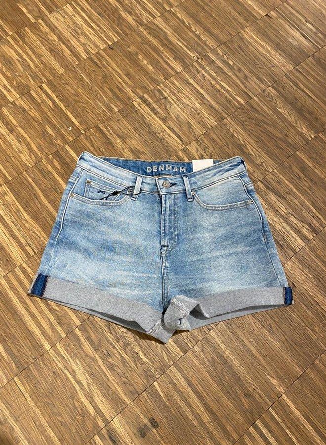 Denham bardot short blue