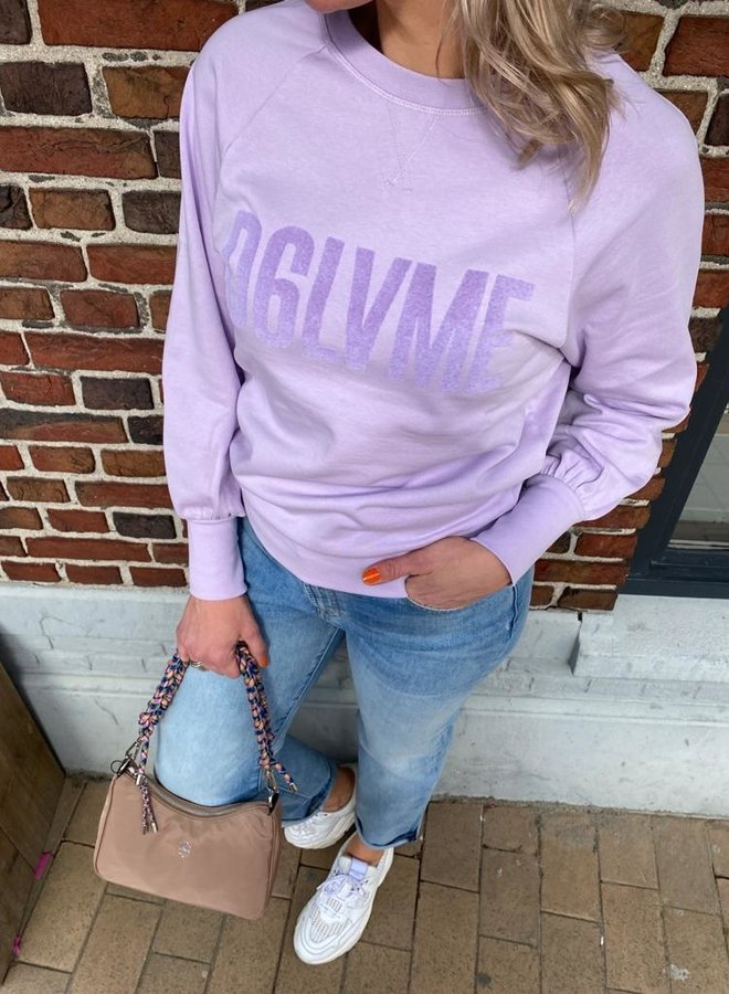 Dante6 loveme sweater frost lilac