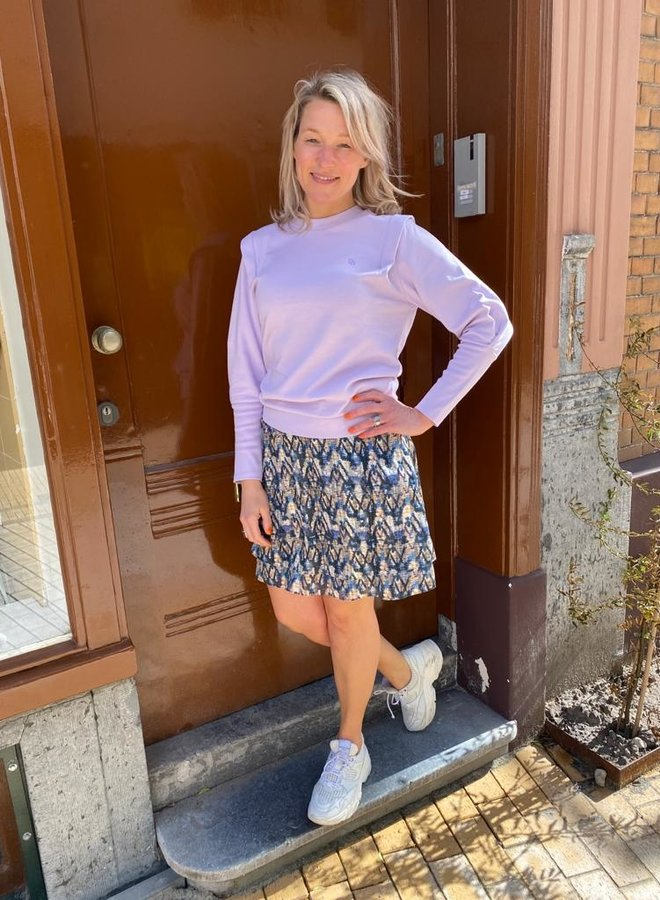 Dante6 noble sweater frost lilac
