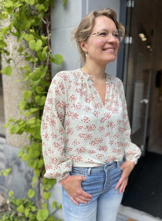 Second pune blouse sage