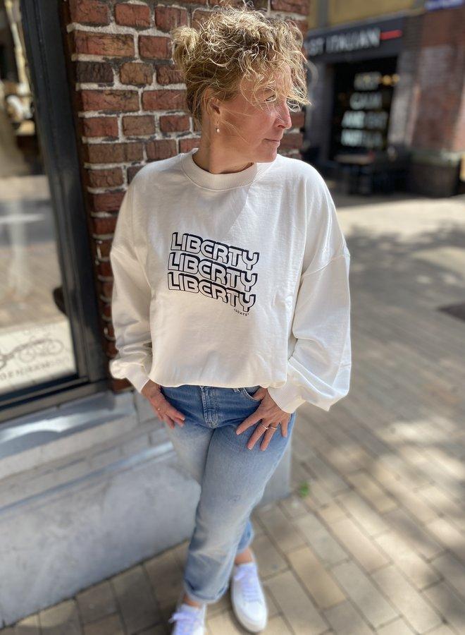 10days liberty sweater white