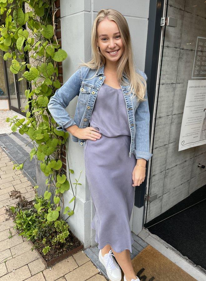 Denham skirt stonewash blue