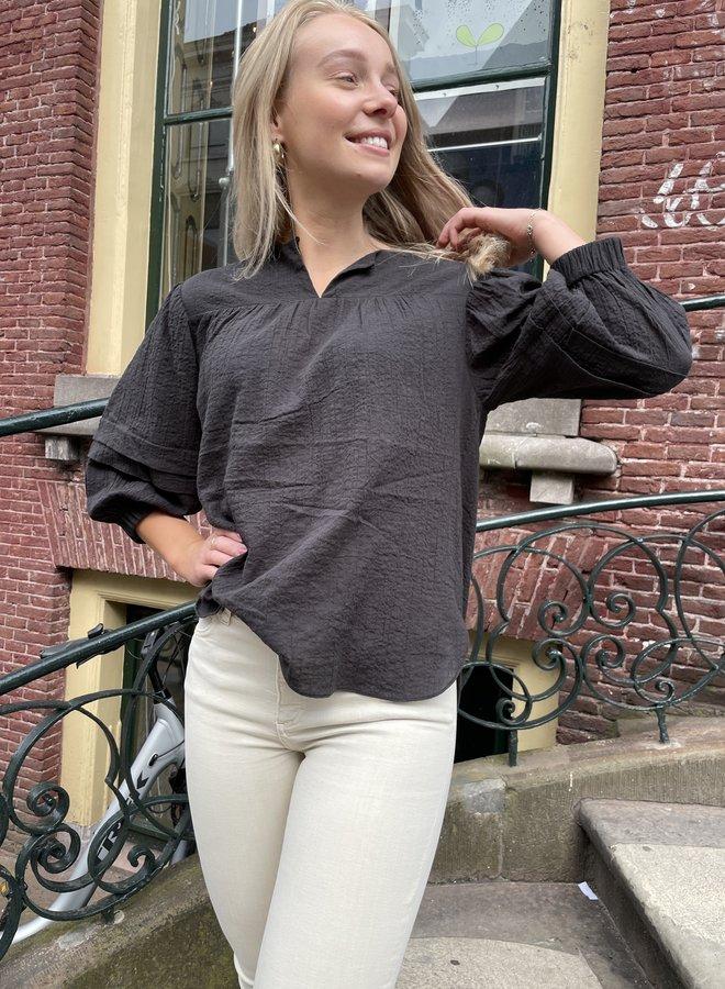 Second Female mallorca blouse black