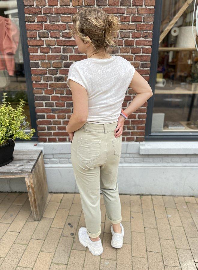 10days high waist jogger pistache