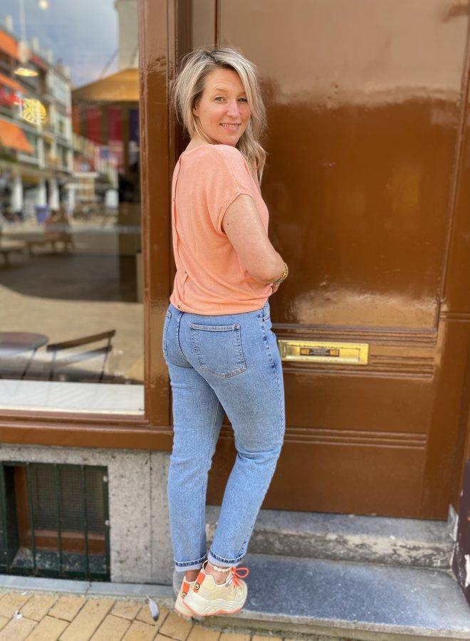 Moss mom jeans blue