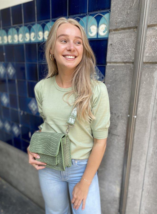 Moss talma pullover reseda