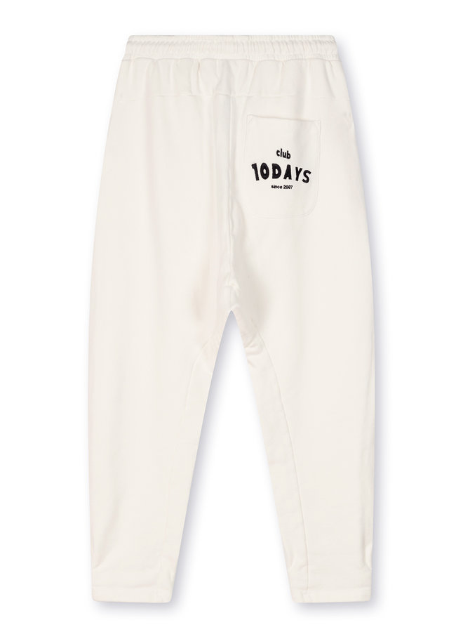10DAYS statement jogger white