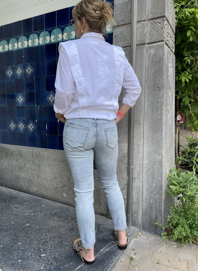SF bello shirt white