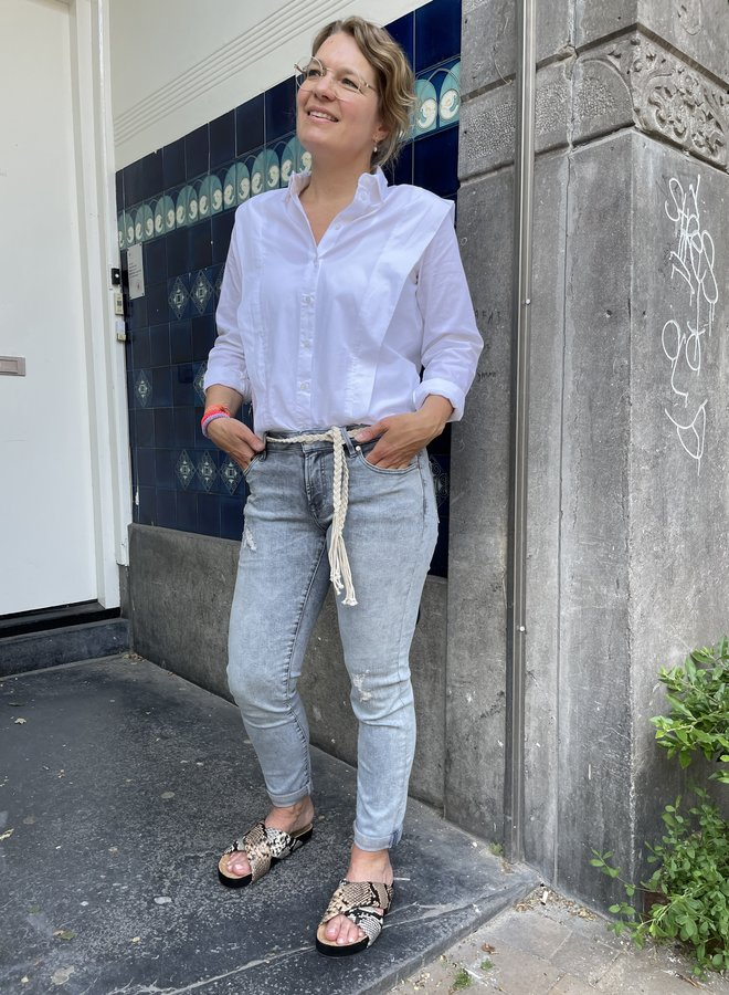 Denham jeans monroe grey blue